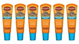 O'Keeffe's Cooling Lip Repair Lip Balm for Dry, Cracked Lips Tube, (Pack of 6)