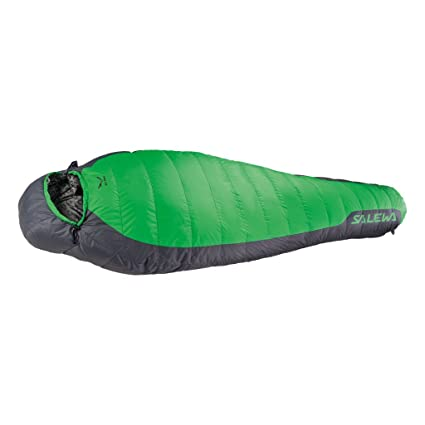 SALEWA Eco 1 SB Saco de Dormir, Unisex, Verde (Eucalyptus), Talla