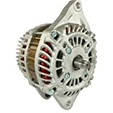 DB Electrical AMT0194 New Alternator For Chrysler Dodge Jeep Sebring Caliber Compass Avenger 1.8L 1.8 2.0 2.0L 2.4L 2.4 07 08 09 10 11 2007 2008 2009 2010 2011 A2TJ0481 VMT0194 04801323AB 04801323AC