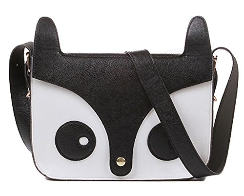 Messenger TheWin Black Fox Shoulder Fox Red TheWin Shoulder Handbag Bag qwpBTq7