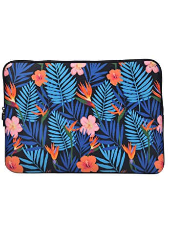 Laptophülle Tropical Blumen Tropischer Druck 14 zoll / Laptoptasche/ Notebooktasche/ Laptophülle/ Laptop Schutzhülle/ Notebook Tasche/ Laptop Sleeve