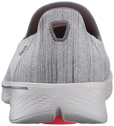 Chaussures Go 4 Femme de Skechers Satisfy Running Gris Walk qHWIB