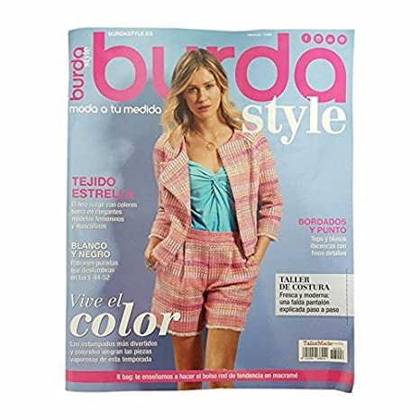 04fd1aa5ccb9 GALERIAS MADRID rivista mensile di moda Burda Style  Amazon.it  Casa ...
