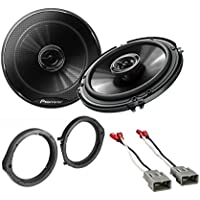 Ai HSB524 2006-2011 Honda Speaker Adapter And Harness With Pioneer TS-G1645R 250W 6.5 2-Way G-Series Coaxial Car Speakers