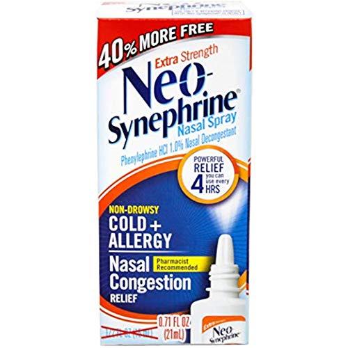 Bayer Neo-synephrine Nasal Spray, Extra Strength, 1%, 15ml/b