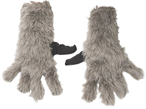Rubies Guardians of the Galaxy Rocket Raccoon Child Size Costume Gloves - Adult Rocket Raccoon Gloves