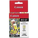 Canon 4708A003 OEM Ink - (BCI-6Y) BJC 8200 i560 i860 i900D i950 i960 i9100 i9900 iP3000 iP4000 iP4000R iP5000 iP6000D iP8500 S800 S820 S820D S830D S900 S9000 MP 750 760 780 Yellow Ink Tank OEM