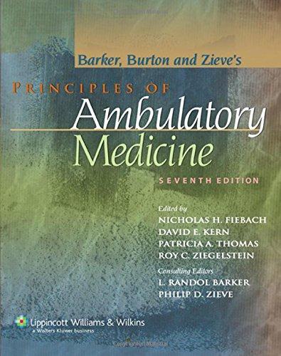 Principles of Ambulatory Medicine (Principles of...