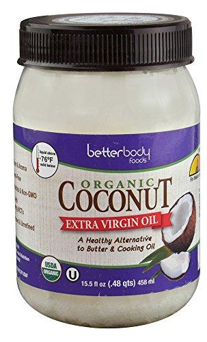 Better Body Foods Organic Extra Virgin Coconut Oil — 15.5 fl oz Review