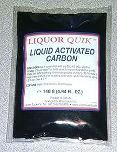 Liquor Quik Liquid Activated Carbon/Charcoal - 140 grams