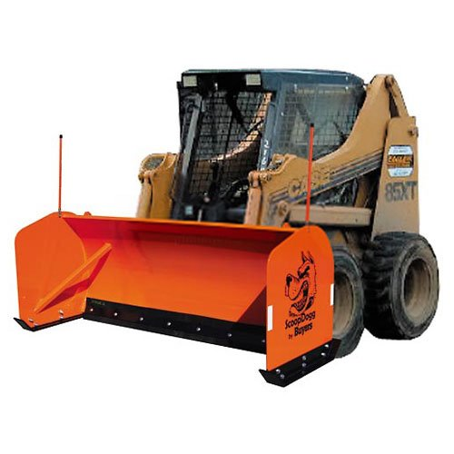 Buyers Products 2603110 Skid-Steer Snow Pusher 10' Wide by Buyers Products