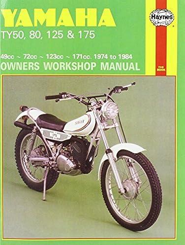 yamaha ty50 80 125 and 175 owners workshop manual motorcycle rh amazon com Yamaha TY 175 Trials Bike Yamaha 1986 RM125