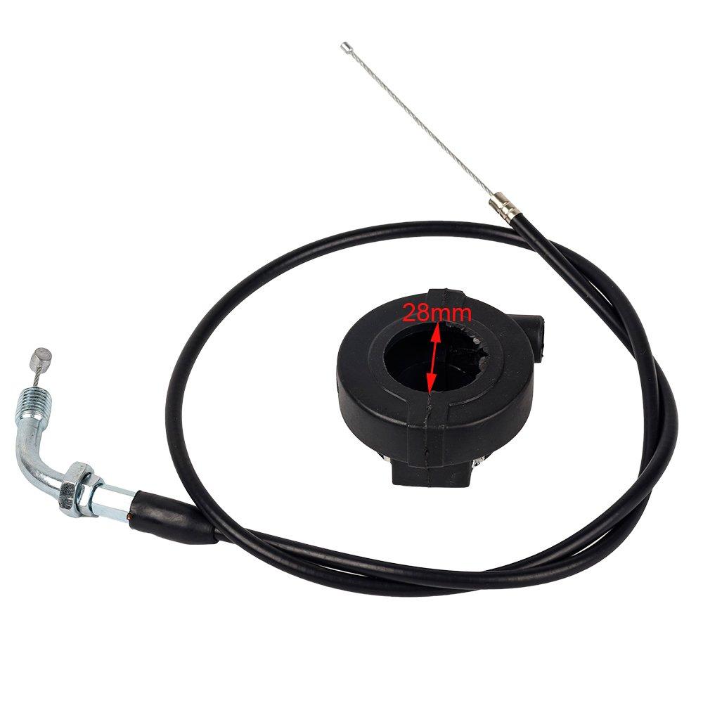 110cc Spare Parts Line For Atv 50cc Throttle Cable