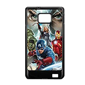 Hard Plastic Phone Case For Women For Galaxy S2 With Avengers Choose Design 3