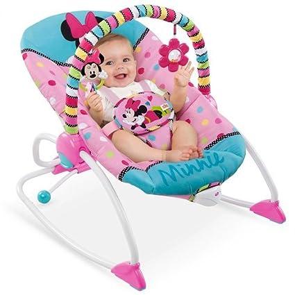 Disney Minnie Mouse Peek-A-Boo - Cochecito para bebé: Amazon.es: Bebé