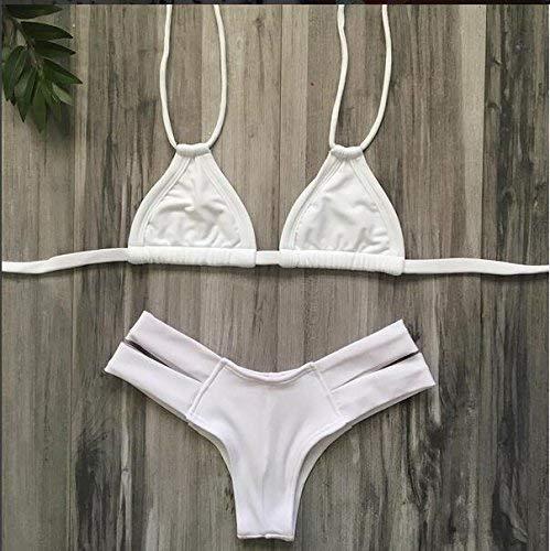 colore Solidi Schienale E Bikini L Dimensione Elastici Senza Nuovi Oudan M qwp1SCH