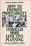img - for How to Improve Profitability Through More Effective Planning (Wiley series on systems & controls for financial management) book / textbook / text book