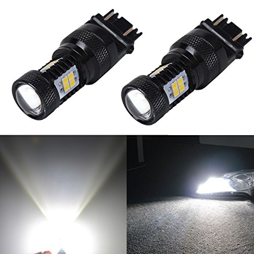 JDM ASTAR Extremely Bright 3030 Chipsets 3056 3156 3057 3157 4157 LED Bulbs with Projector, Xenon White - 07 Ford F150 Projector