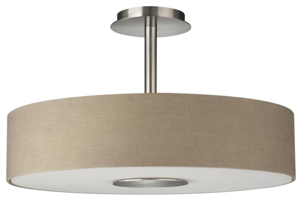 philips roomstylers semiflush ceiling light dark beige close to ceiling light fixtures amazoncom