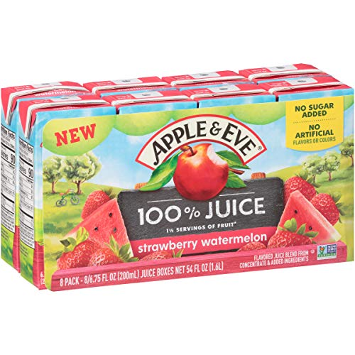 Apple & Eve 100% Strawberry Watermelon Juice, 40 Count