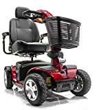 Victory Sport 4-Wheel Electric Scooter Pride SC710 DXW + Hassle-Free In-Home Service Plan Bundle