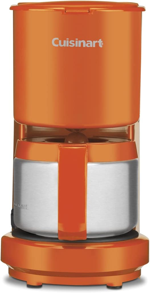 Cuisinart DCC-450 (4 tazas cafetera con jarra de acero inoxidable ...
