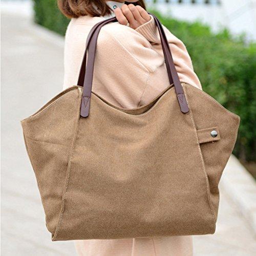 B Hobo Shoulder Crossbody For Canvas Women Handbag Casual Bag Bag Bags Travel Lady Bags 1nW6HOqS