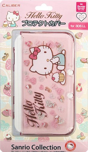 Price comparison product image Hello Kitty Protective Cover Nintendo 3DS XL Pink