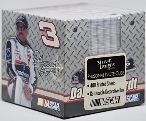 1 X #3 Dale Earnhardt Personal Note Cube (Wrapped Printed Mints)