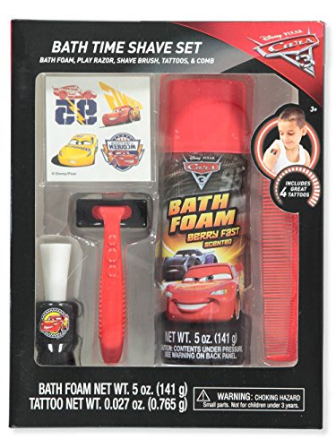 Gbg Disney Cars 3 Bath Time Shave Set Red