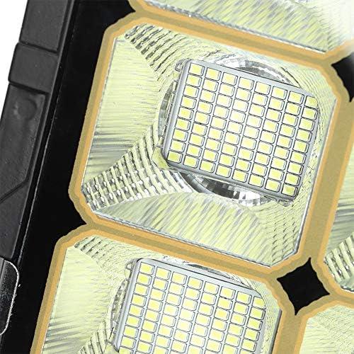 Solar Parkleuchte LED, Außen Solar Fernbedienung Landschaft Street Yard LED Lampe Garten Wandhalterung Licht für Wohnzimmer & Büros - Dimmbar, Innenmast