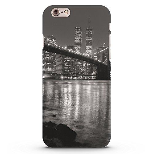 Koveru Back Cover Case for Apple iPhone 6 - The New York Bridge in Night