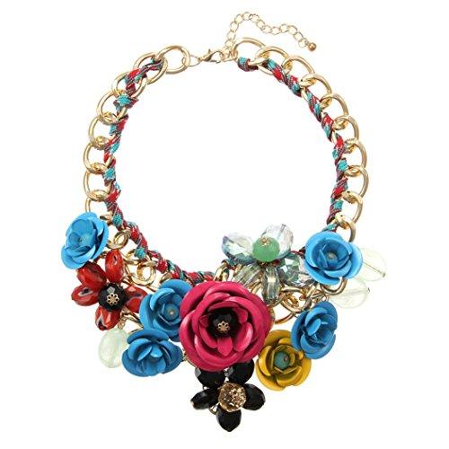 24k Floral Pendant - 5