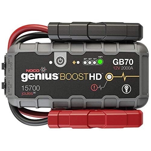 NOCO Boost HD GB70 2000 Amp 12V UltraSafe Portable Lithium Car Battery Jump Starter Pack for Up to 8L Gasoline and 6L Diesel Engines (Best Rugged Phone On The Market)