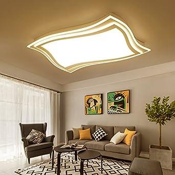 Wohnzimmer Licht Rechtecke Led - Decke Lampen Atmosphäre ...