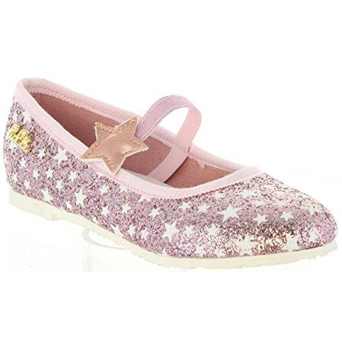 Ballerinas für Mädchen Lulu LB010051S Stellina Pink 0044