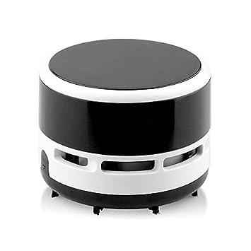 Mini Portable Handheld Cordless Tabletop Crumb Sweeper Desktop Vacuum  Cleaner Battery Operated (Black)