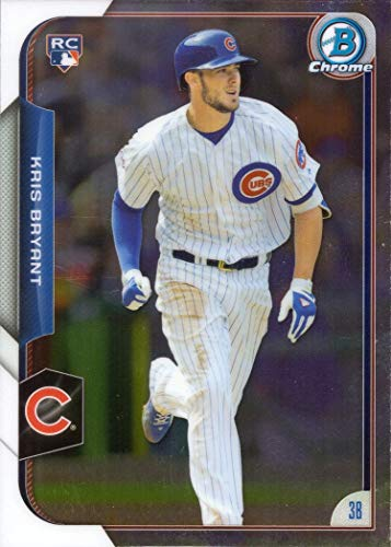 2015 Bowman Rookie Baseball - 2015 Bowman Chrome Baseball #200 Kris Bryant Rookie Card