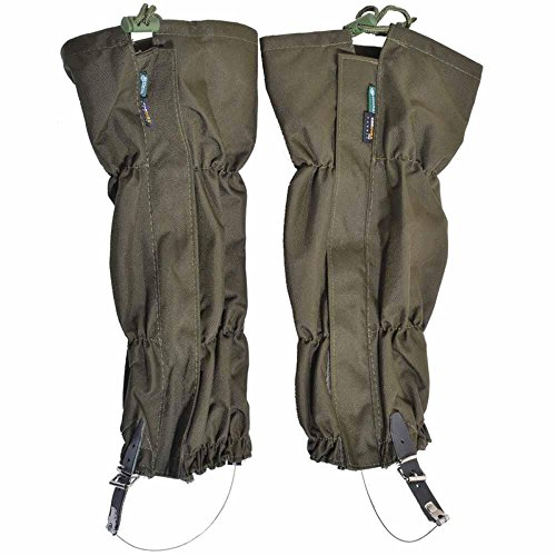 EDTara Snow Leg Gaiters for Hiking Climbing Outdoor Hunting Cycling Waterproof Anti-abrasion Boot Gaiters Leggings Cover by EDTara