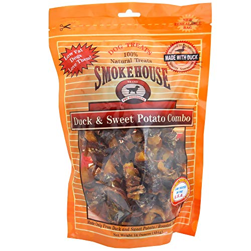 Smokehouse Duck & Sweet Potato Dog Treats, 16 Ounce, 2 Pack