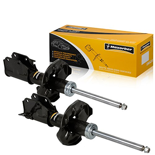 Maxorber 2pcs Front Pair Shocks Struts Absorber Compatible with Mazda Protege 2000-2003 Shock Set Replacement for Mazda Protege 5 02 03 Shock Absorber 333350 333351 71424 71425