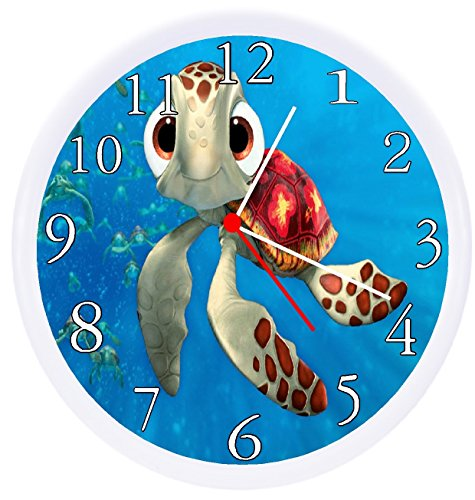 Rusch Inc. Finding Nemo SQUIRT Turtle Wall Decor Clock