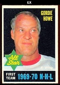 1970 O-Pee-Chee Regular (Hockey) Card# 238 Gordie Howe AS1 of the Detroit Red Wings Ex Condition