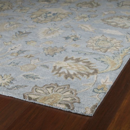 Kaleen Rugs Helena Collection 3203-56 Spa Hand Tufted 2' x 3' Rug by Kaleen Rugs (Image #1)