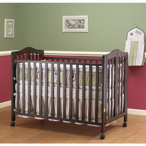 The Orbelle Full-size Folding Crib Cherry