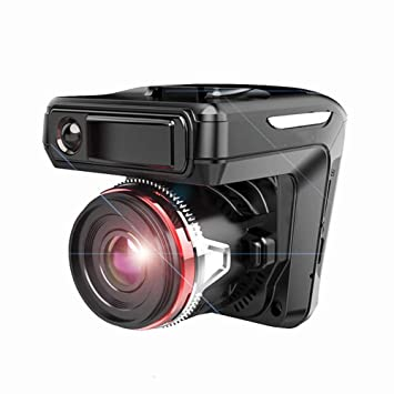 Car DVR 2in1 HD 1080P Video Recorder Detector G-Sensor Loop Recording Dash Cam Radar