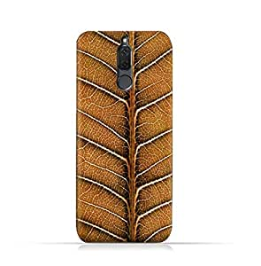Huawei Mate 10 Lite TPU Silicone Case With Natural Dried Leaf Design