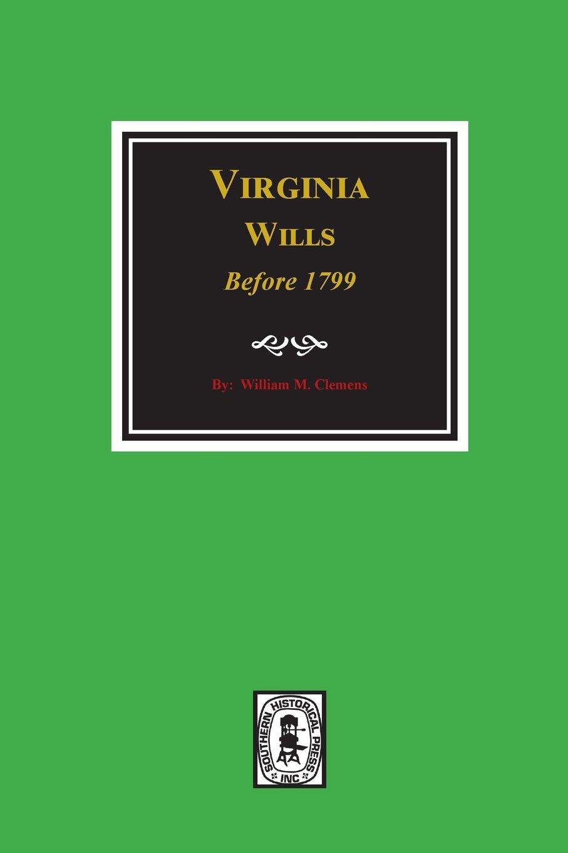 Download Virginia Wills before 1799. PDF