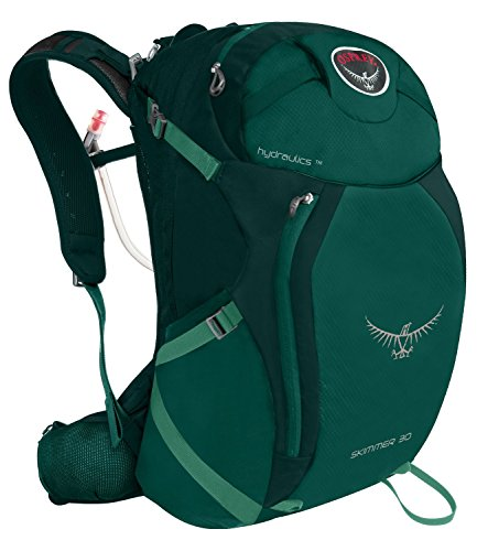 Osprey Packs Women's Skimmer 30 Hydration Pack, Jade Green, X-Small/Small