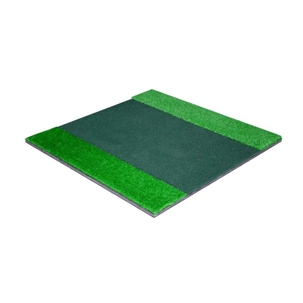 インドアマットゴルフミニアーテ ?ゴルフロングアンドショートグラスコンビネーションマットターフゴルフヒットグラスマットゴルフパッティングマット屋内ポータブル運転、チッピング、トレーニング補助 屋内ゴルフマットミニ人工グリーン屋内パッティングトレーナー (色 : 緑, サイズ : 1.5*1.5cm) 1.5*1.5cm 緑 B07RLG4MK1